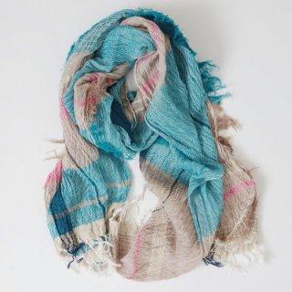 tamaki niime 玉木新雌 roots shawl cotton 100% 中判