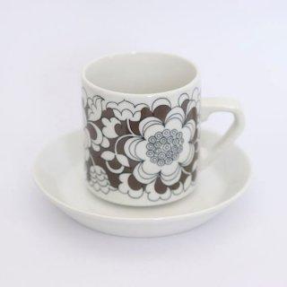 arabia gardenia C&S  アラビア カップ&ソーサー