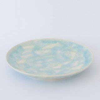 市野ちさと 丹泉窯 6.5寸皿 丹波焼