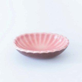 丹波焼 雅峰窯 たまり小皿 ピンク