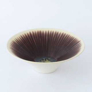 和田山真央 6寸 いちじく流し 浅鉢