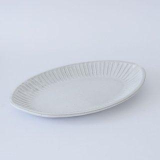 TANBA STYLE オーバルプレート WHT 丹波焼 タンバスタイル