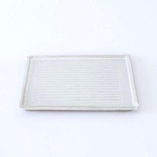 TANBA STYLE Bread Plate WHT 丹波焼 タンバスタイル