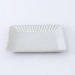 TANBA STYLE Squar Plate M WHT 丹波焼 タンバスタイル