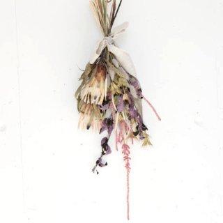 上原倫子  プロテアホワイトナイトのパープルスワッグ(L) 花のある暮らし