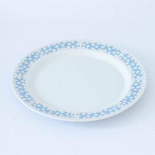 ARABIA  23.5cm plate  プレート 花柄 水色
