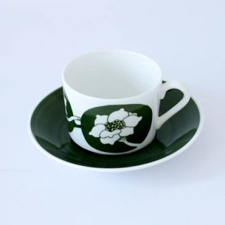 gustavsberg fleur C&S グスタフスベリ フルール カップ&ソーサー
