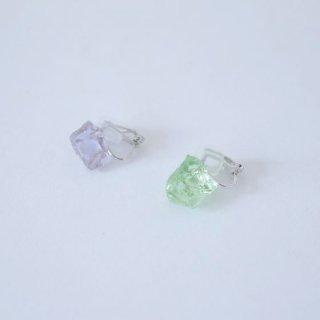 sorte glass jewelry stardust イヤリング