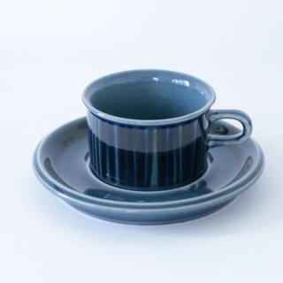 ARABIA  blue kosmos mini C&S アラビア ブルーコスモス カップ&ソーサー