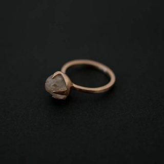 mamelon noir 古代水晶S リング【9号】 蓮井まき