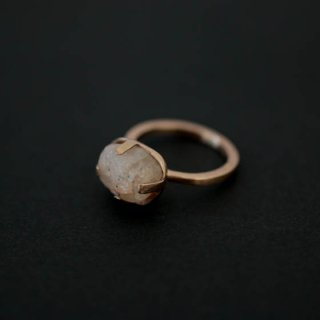 mamelon noir 古代水晶m リング【12号】 蓮井まき
