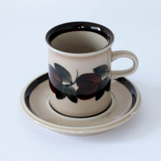 ARABIA ruija coffee C&S アラビア ルイヤ コーヒー カップアンドソーサー