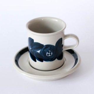 ARABIA anemone coffee C&S アラビア アネモネ コーヒーカップ&ソーサー