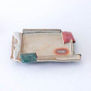 丹波焼 大西雅文 丹文窯 角皿