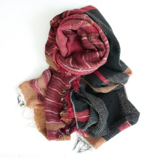 tamaki niime 玉木新雌 roots shawl w/c 中判 【送料無料】wm712r