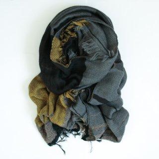 tamaki niime 玉木新雌 roots shawl w/c 中判 【送料無料】wm725r