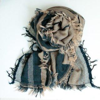 tamaki niime 玉木新雌 roots shawl w/c square 【送料無料】sq92r
