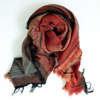 tamaki niime 玉木新雌 roots shawl w/c square 【送料無料】sq93r