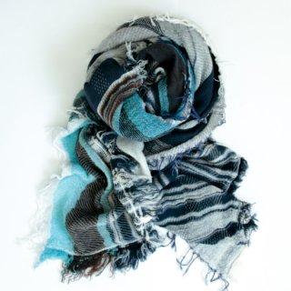 tamaki niime 玉木新雌 roots shawl w/c square 【送料無料】sq95r