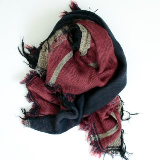 tamaki niime 玉木新雌 roots shawl w/c square 【送料無料】sq99r
