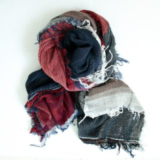 tamaki niime 玉木新雌 roots shawl w/c square 【送料無料】sq100r