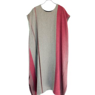 tamaki niime 玉木新雌 only one fuwa-T long wool&cotton fl52
