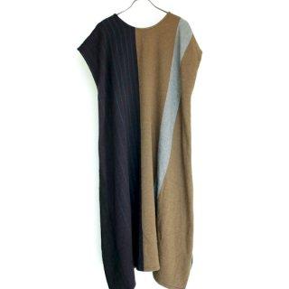 tamaki niime 玉木新雌 only one fuwa-T long wool&cotton fl54