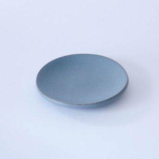 丹波焼 市野大輔 雅峰窯 豆皿 ブルー