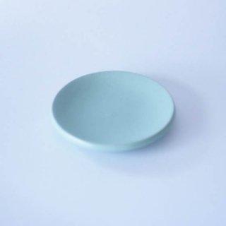 丹波焼 市野大輔 雅峰窯 豆皿 水色