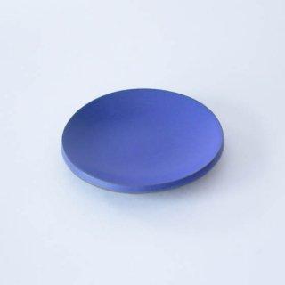 丹波焼 市野大輔 雅峰窯 豆皿 青紫