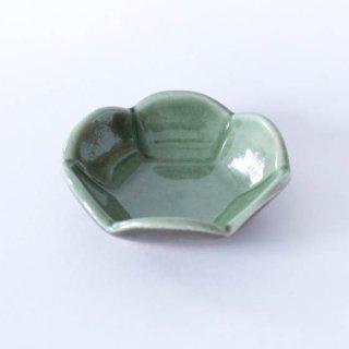 丹波焼 雅峰窯 梅小鉢 緑