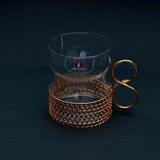 iittala tsaikka イッタラ ツアイッカ(ゴールド)ヴィンテージグラス