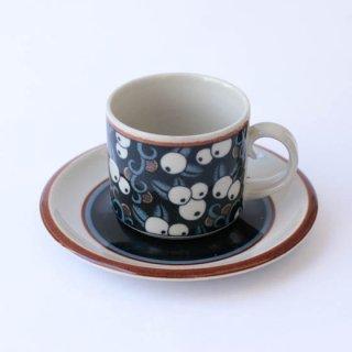 ARABIA taika coffee C&S アラビア タイカ カップ&ソーサー