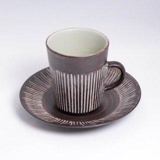 br denmark amazonas coffee C&S(long) brデンマーク アマゾナス カップ&ソーサー