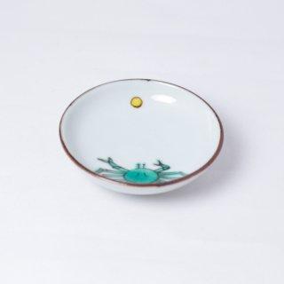 豆皿 月と蟹 樋山真弓