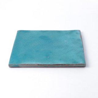 aya ogawa 「flat squar plate 12.5cm 」  小川綾