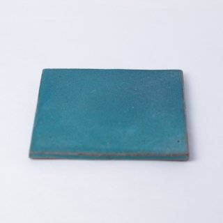 aya ogawa 「flat squar plate 10.5cm 」  小川綾