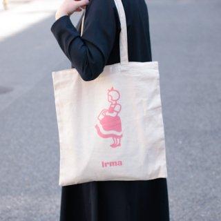 irma イヤマ オーガニックコットン トートバッグ【pink】