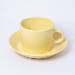 ARABIA teema yellow C/S アラビア ティーマイエロー カップ&ソーサー
