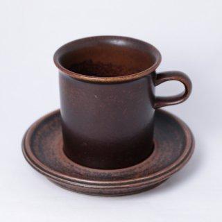 ARABIA ruska cacao C&S ルスカ カカオ カップ&ソーサー