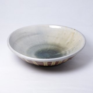 丹波焼 大西雅文 丹文窯 7寸浅鉢
