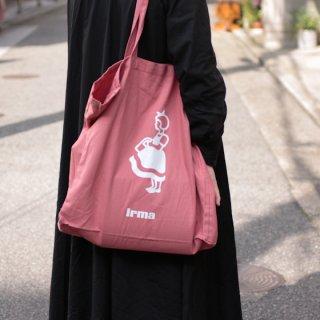 irma イヤマ コットン トートバッグ【pink】