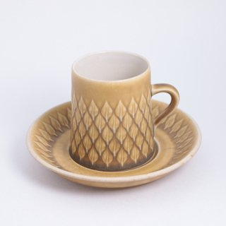 relief coffee C&S Jens H.Quistgaard コーヒー レリーフ カップ&ソーサー