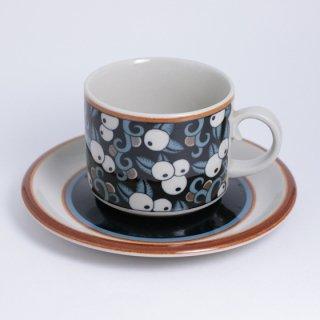 ARABIA taika tea C&S アラビア タイカ カップ&ソーサー