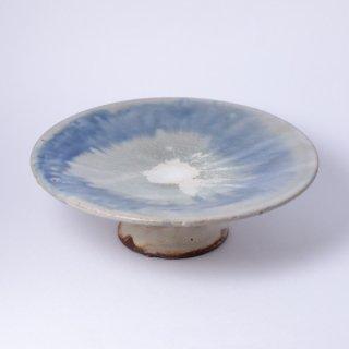 丹波焼 大西雅文 丹文窯 7寸台皿