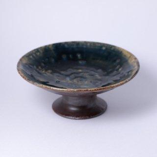 丹波焼 大西雅文 丹文窯 6寸台皿