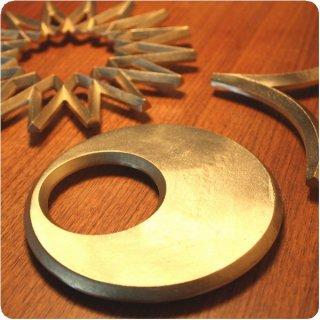 二上 FUTAGAMI 真鍮 鍋敷き 【月】 大治将典