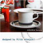 ARABIA faenza デミタスコーヒーC&S