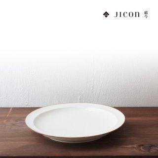 jicon 浅リム皿 中(淵錆) 大治将典