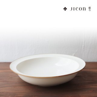 jicon 浅リムスープ皿 大 大治将典